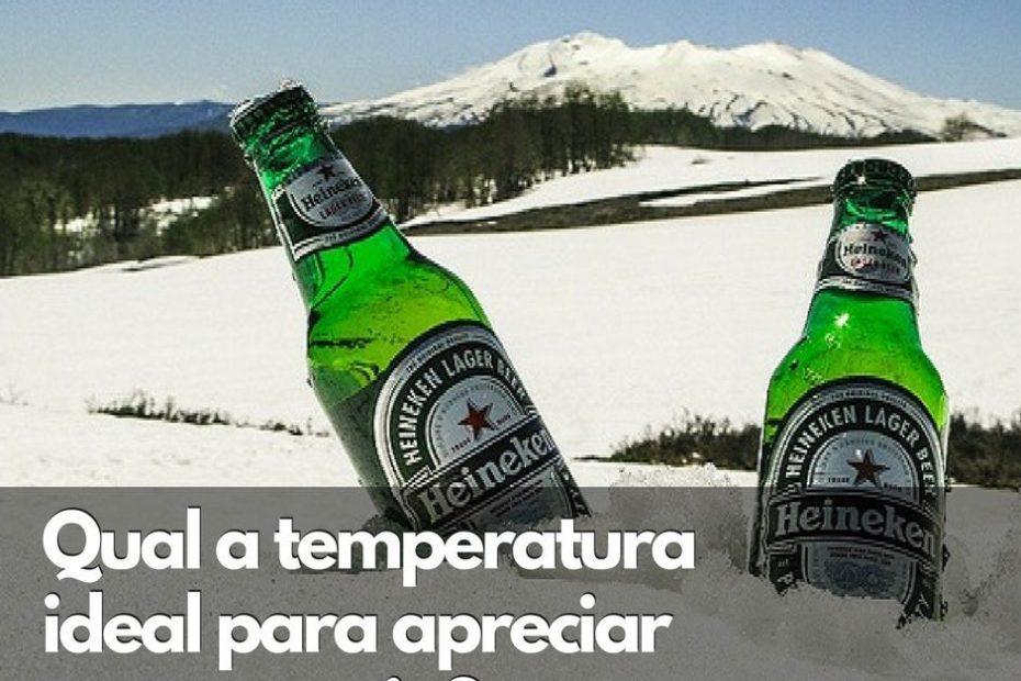 Temperatura ideal para apreciar uma cerveja
